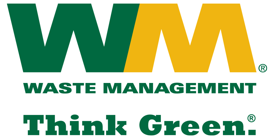 s featured associate member waste management suncoast  logo waste management think green