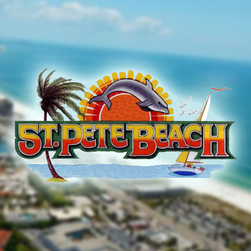 St Pete Beach Is A Barrier Island Community Located Just Off The Pinellas County Mainland Of Saint Petersburg South Treasure